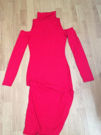 0Cold shoulder dress £12 from Missguided