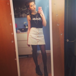 Top and skirt H&M buys