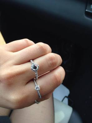 Lovely Pandora ring from the boyfriend